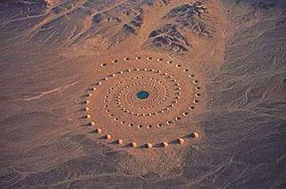 Sandkreis Kornkreis Cropcircle