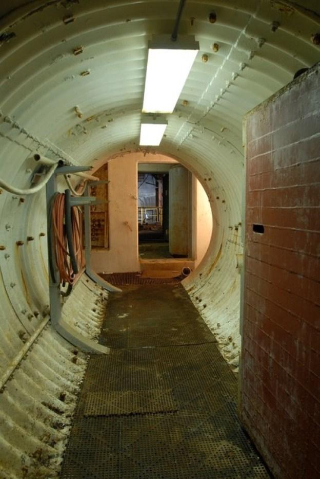 Tunnel zum Silo