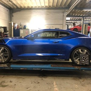 Tieferlegungs – Komplettpaket für Camaro 6