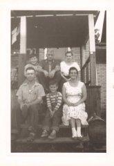 Uncle John Conner, Virgil Schirf, Aunt Thelma Conner, Jim Conner, Dad, Aunt Marietta