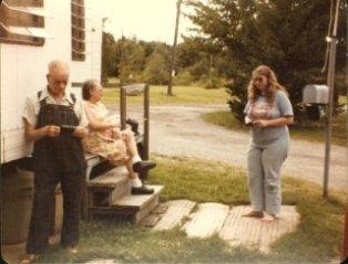 Mom, Dad, and me circa 1980?