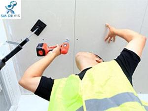 SM DEVIS Rénovation de plafonds suspendus 1
