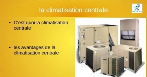 devis climatisation centrale Tunisie