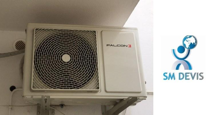 Entreprise climatiseur FALCON en Tunisie SM Devis