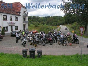 Motorradtour Saarland/Mandelbachtal