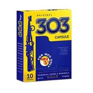 303 Capsule For Sexual Power Stamina of Men