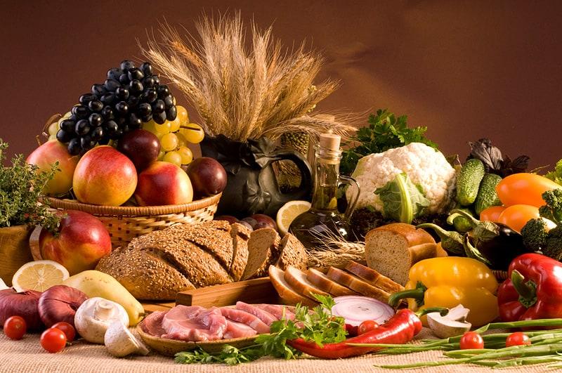 surowe jedzenie