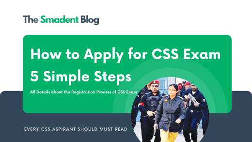 How-to-Apply-for-CSS-Exam-All-Details by The Smadent Blog