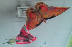 The Hanging Butterfly Mobile Outside The Butterfly House
