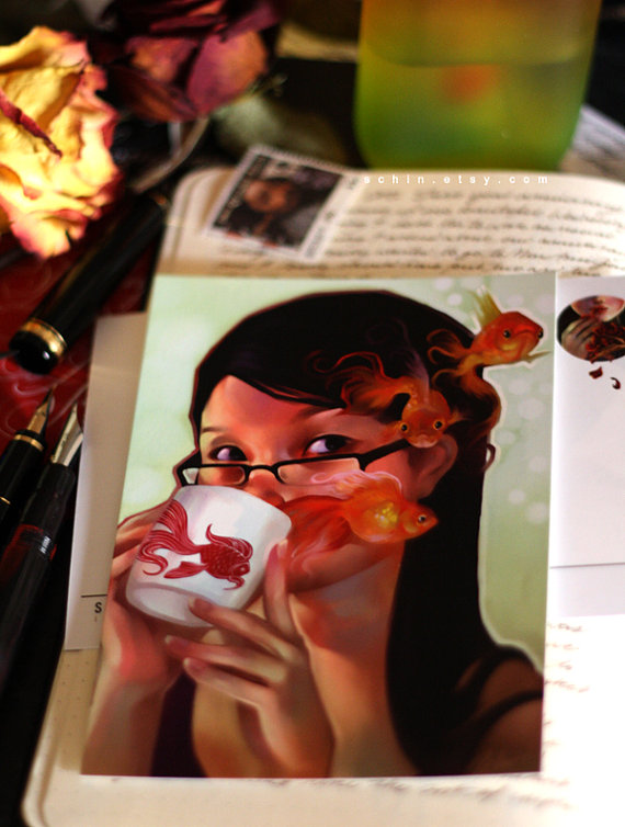 Schin Loong's My Mug Postcard