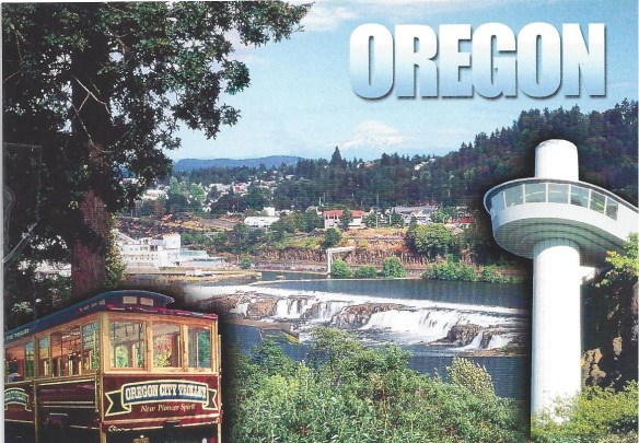 Oregon City Postcard