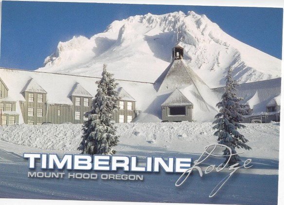 Timberline Lodge Postcard