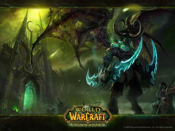 Burning Crusade Illidan Wallpaper