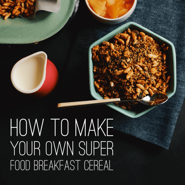 How to make your own super food breakfast cereal gluten free granola home made granola home made granola recipe ccuart Choice Image