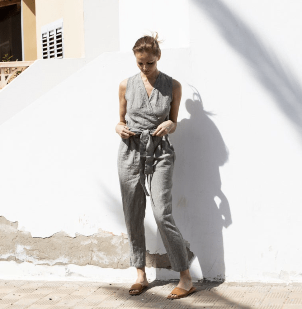 not perfect linen jumpsuit review