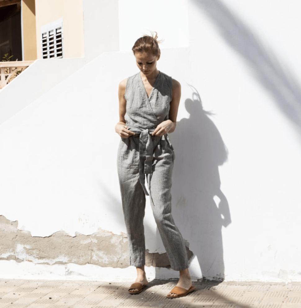not perfect linen jumpsuit review