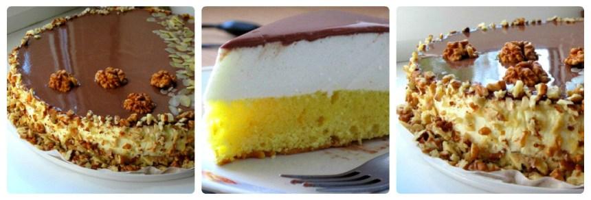 Лимонний торт-суфле