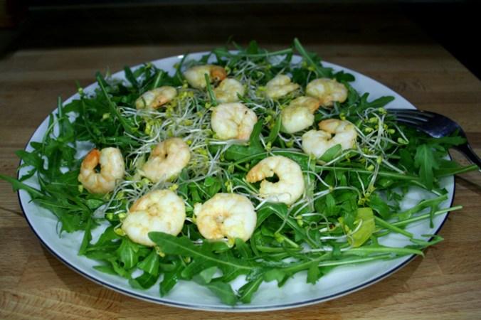 krewetki na salacie 2