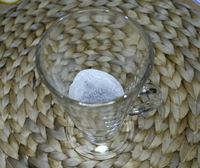 herbata w szklance