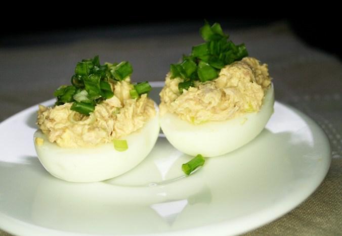 jajka faszerowane z tunczykiem