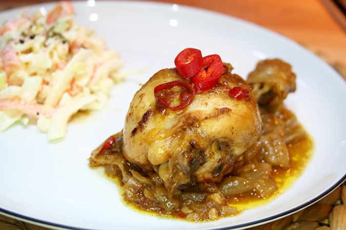 kurczak z chilli
