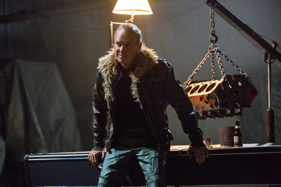 Michael Keaton as Birdm... I mean Vulture in Homecoming