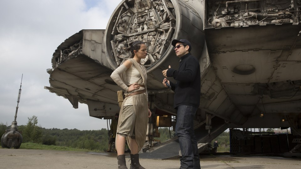 J.J. Abrams directing Star Wars: The Force Awakens