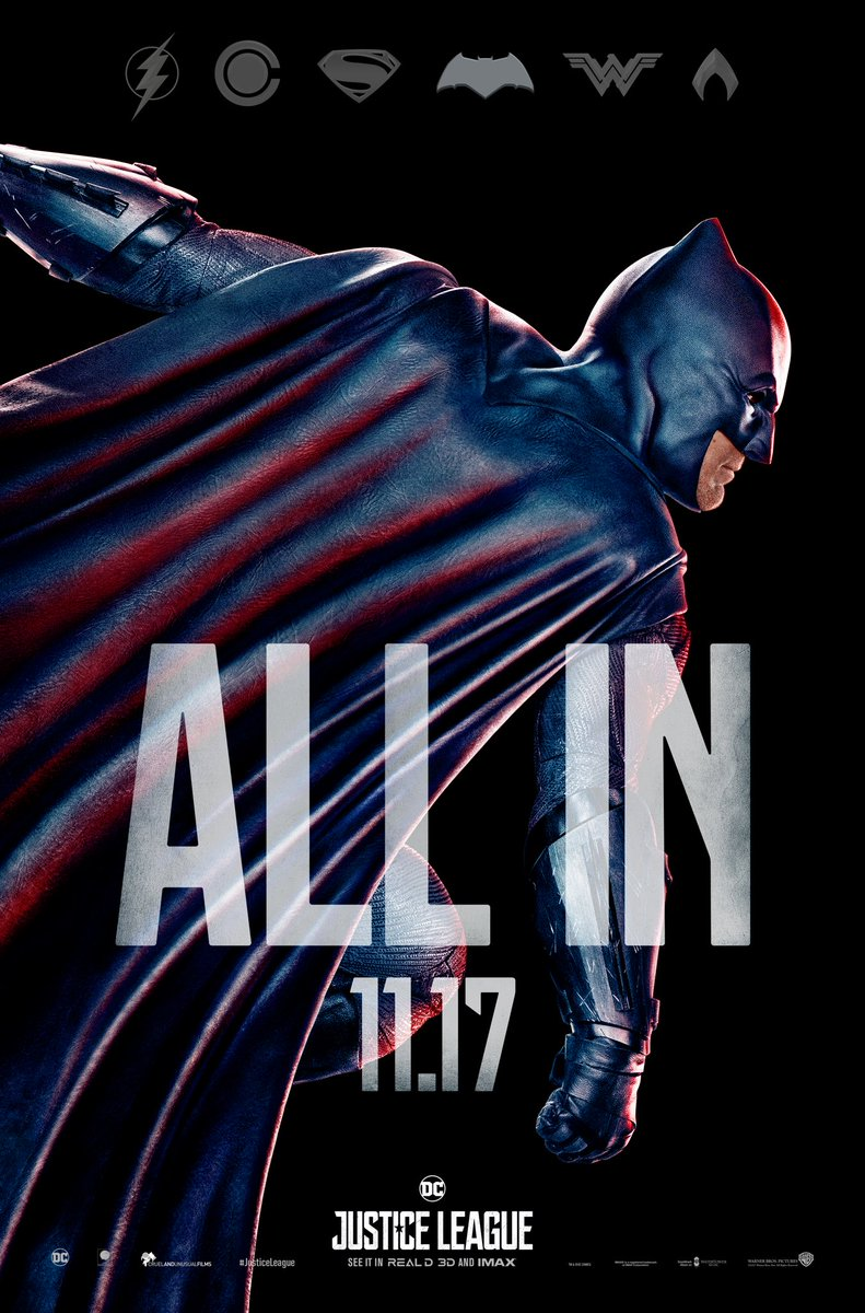Check Out Justice League's New Character Posters 1