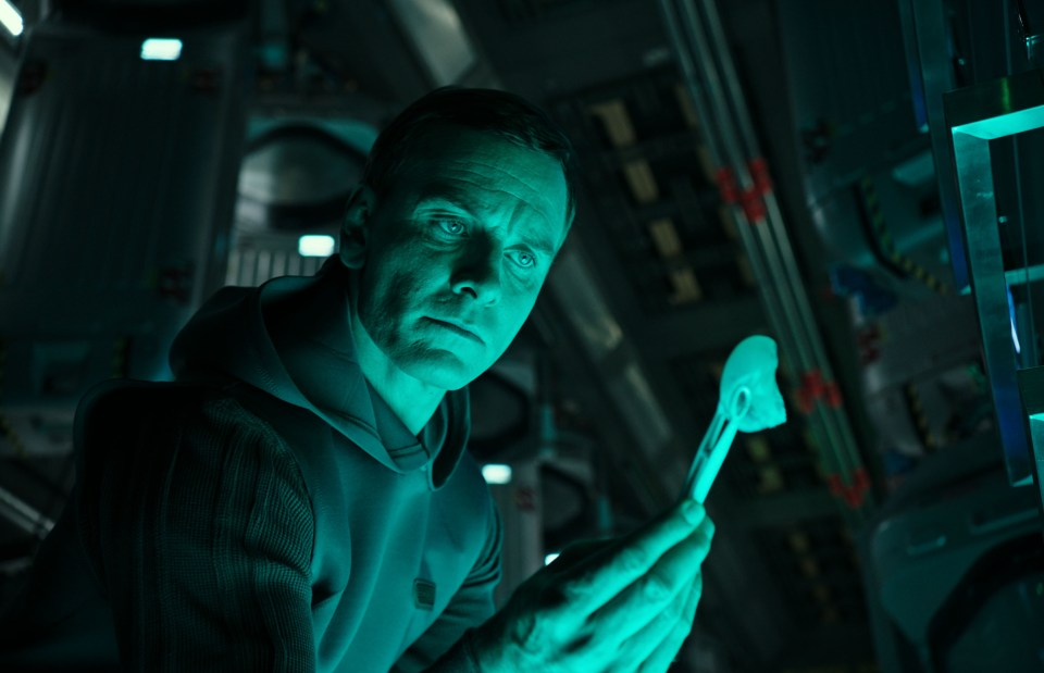 Michael Fassbender as Walter in Alien: Covenant