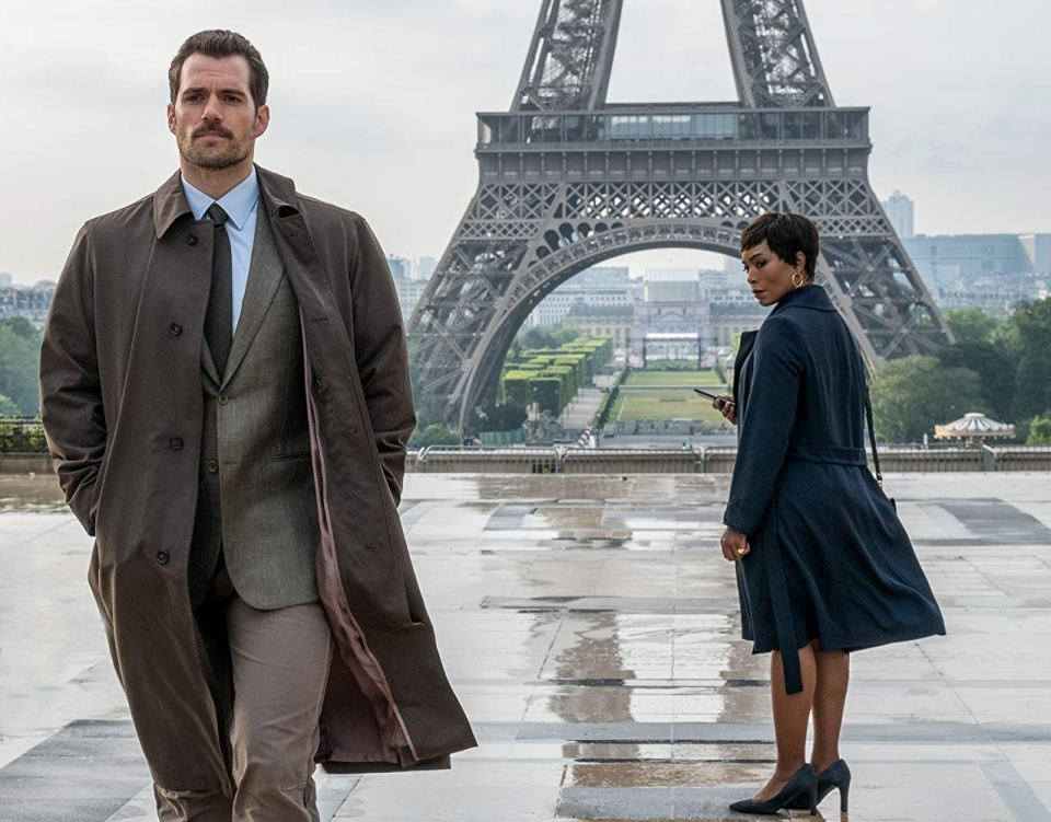 Mission Impossible Henry Cavill