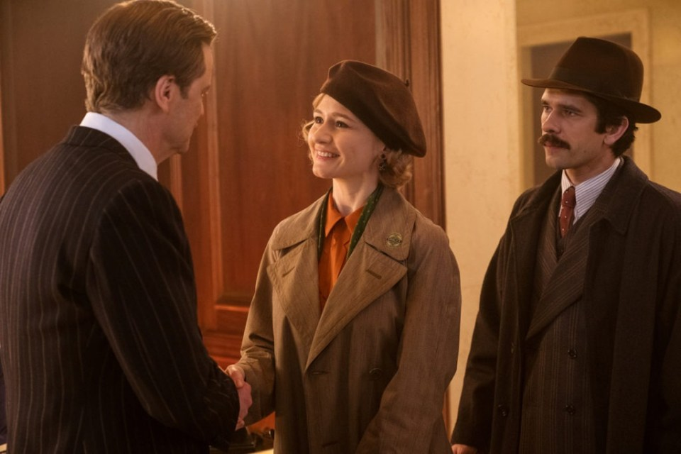 Colin Firth is Wilkins, Emily Mortimer is Jane Banks and Ben Whishaw is Michael Banks