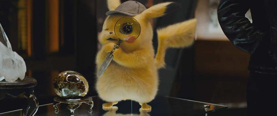 Ryan Reynolds was the voice of Pikachu in Detective Pikachu