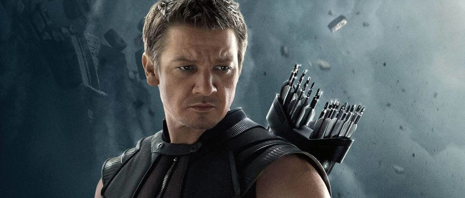 Jeremy Renner as Hawkeye in the Marvel Cinematic Universe