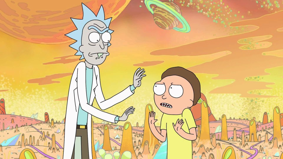 rick and morty season 4 uk release date pushed forward