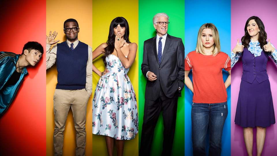 The Good Place Season 4 on Netflix is brilliant