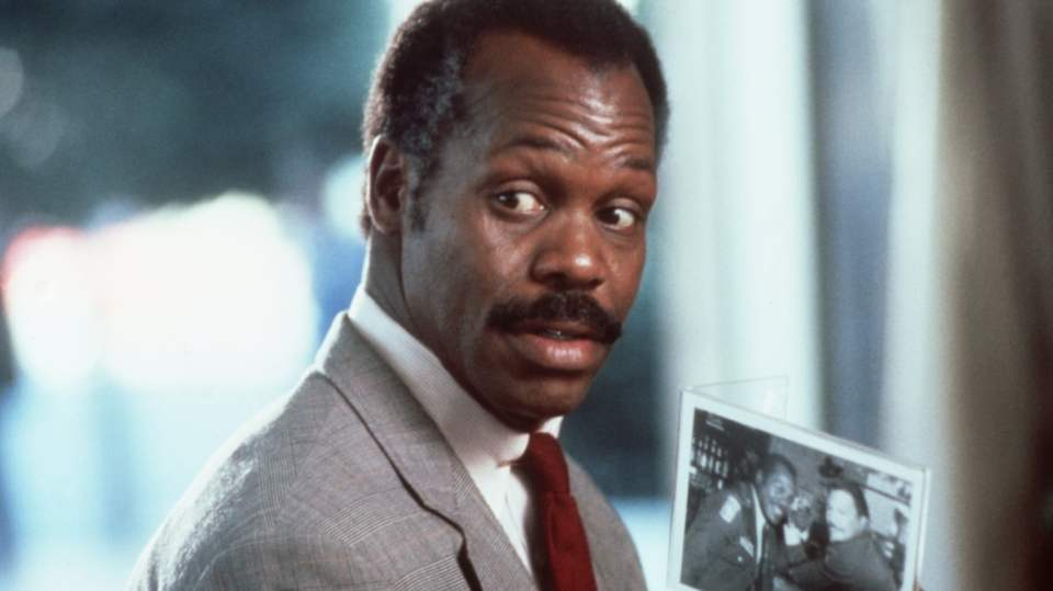 Danny Glover as Murtaugh in Lethal Weapon