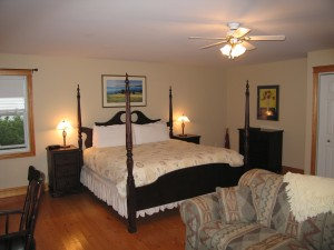 Waterfront King Suite at The Inn at St. Peters (PEI, Canada)