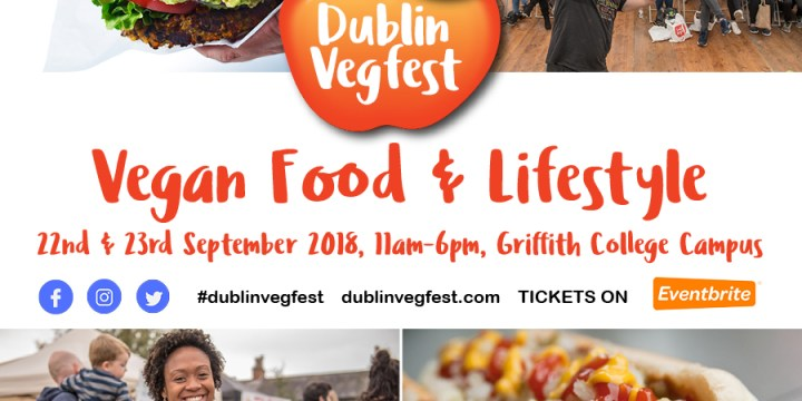 Dublin VegFest 2018 is here!