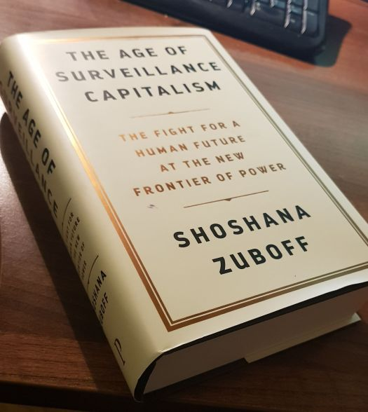Shoshana Zuboff's thesis of surveillance capitalism
