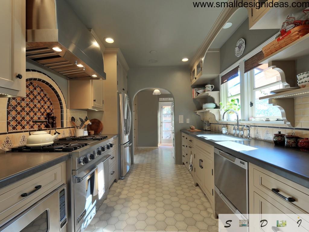 Galley Kitchen Layout Design Ideas Small Design Ideas