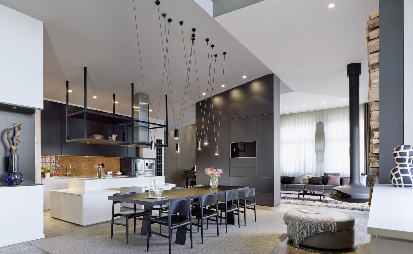 Contemporary Interior Design Style   Small Design Ideas Contemporary Interior Design Style  Large spacious space with extra high  ceilings