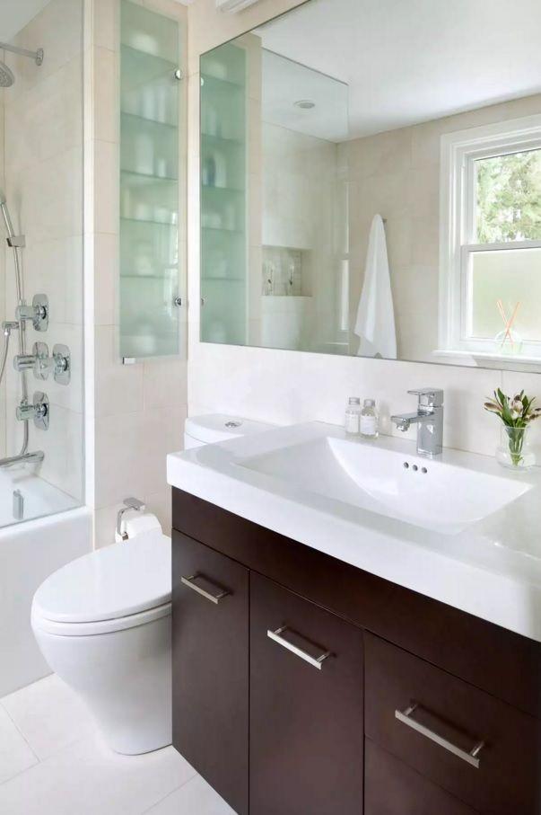 Small Bathroom Space Saving Vanity Ideas - Small Design Ideas on Bathroom Designs For Small Spaces  id=66600