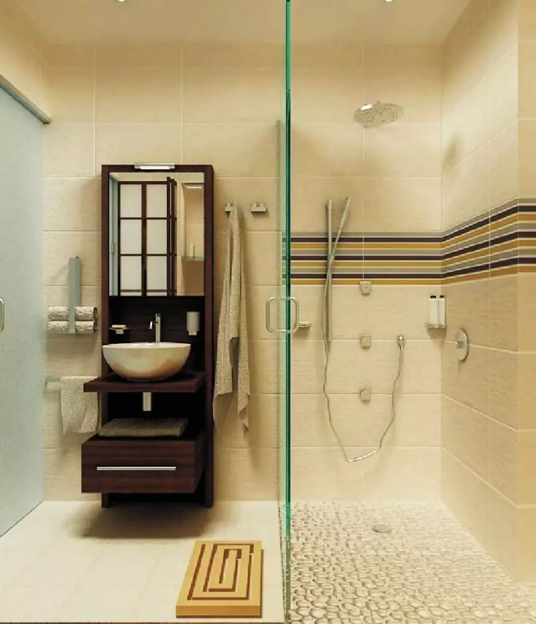 Small Bathroom Space Saving Vanity Ideas - Small Design Ideas on Small Space Small Bathroom Ideas With Shower id=61727