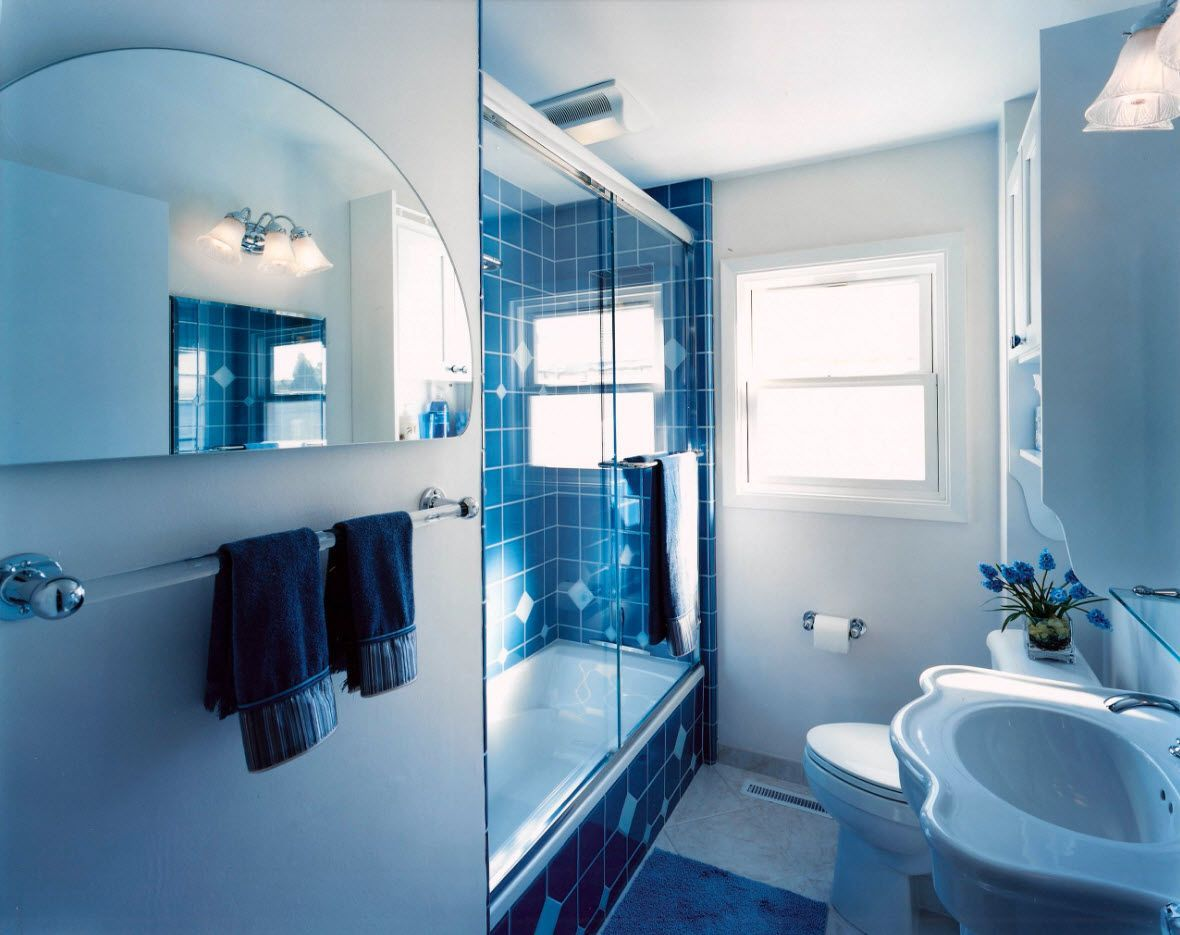 Small Bathroom Interior Space Optimization Ideas & Layout ... on Nice Bathroom Designs For Small Spaces  id=90404