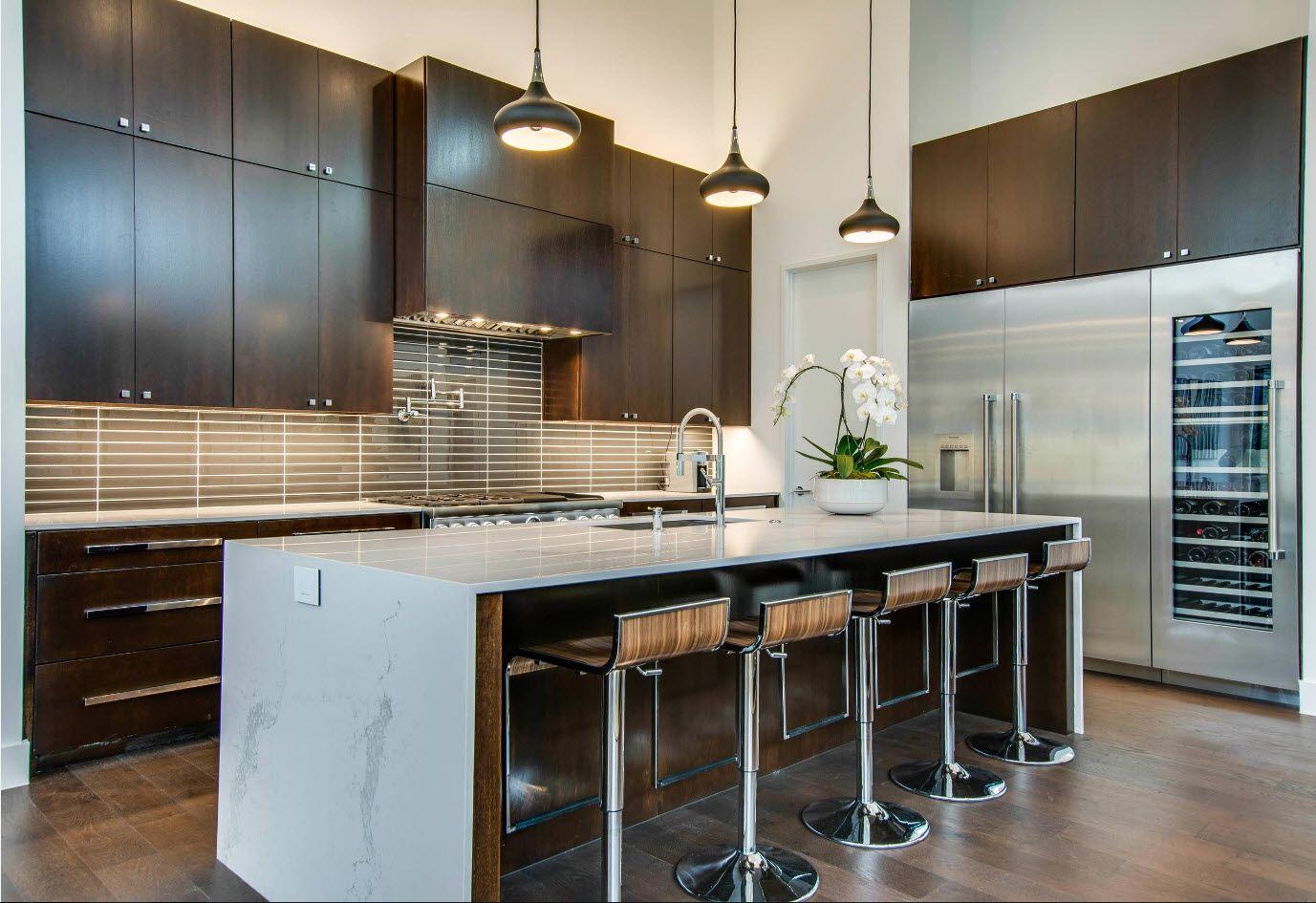 100+ Photo Design Ideas of Modern, Comfortable IKEA ... on Model Kitchen Ideas  id=36416