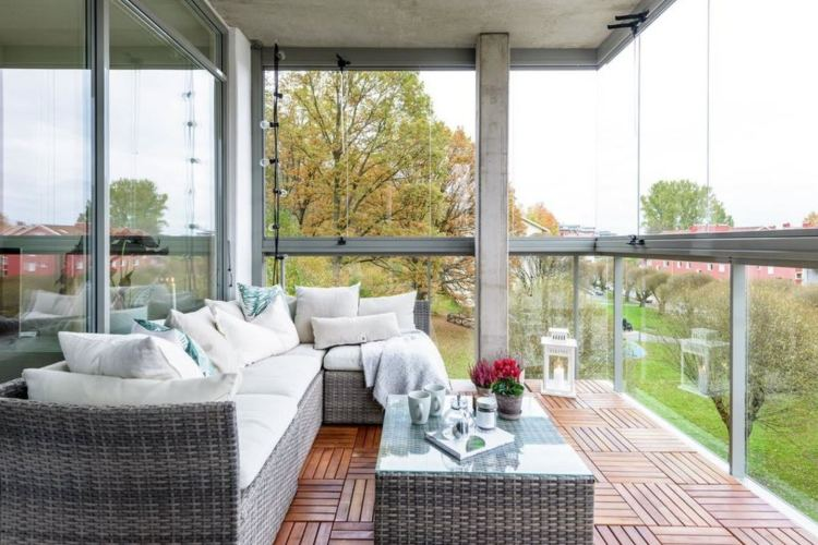 Large Balcony Design Ideas Modern Trends In Furniture And Decoration