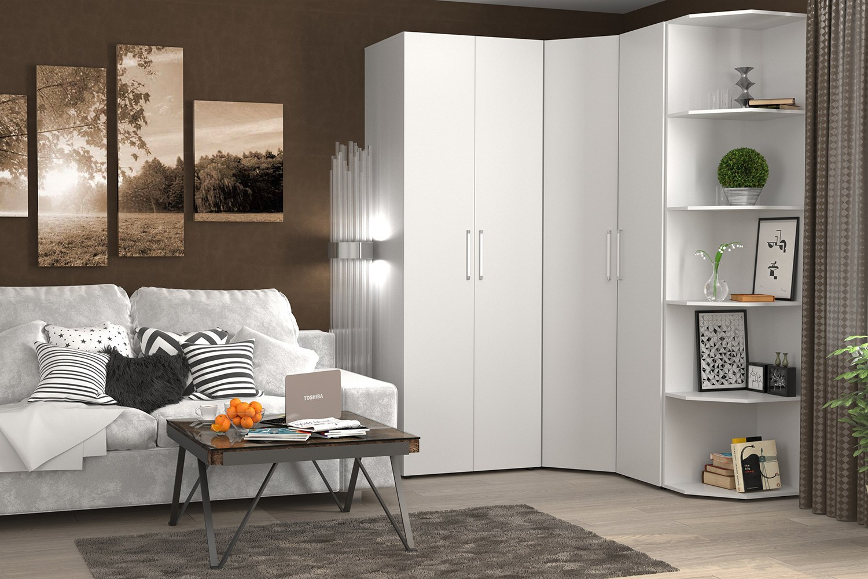 corner bedroom furniture arranging