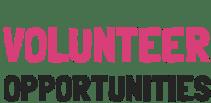 Volunteer Opportunities New England area