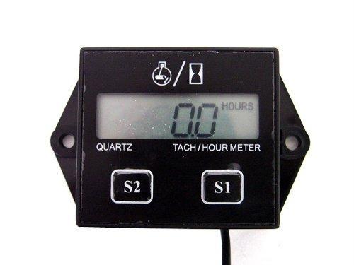Timer Hour Meter Tachometer Stroke Engine Motor Boat Outboard Mercury Upgrade