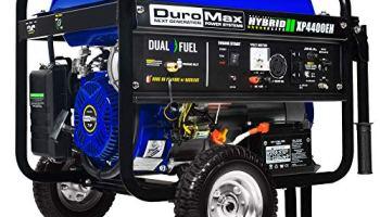 Duromax Xp5500eh 5 500 Watt 7 5 Hp Portable Electric Start Dual Fuel Gas Propane Generator Small Engine Parts